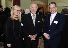Dee Forbes, Sir Bruce Forsyth and Dan Korn
